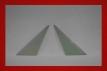 Kunststoff Dreiecksscheiben 914 3 mm in grün getönt