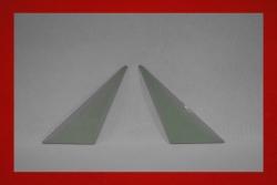 Lightweight triangle window 914 - left 3 mm blue tinted