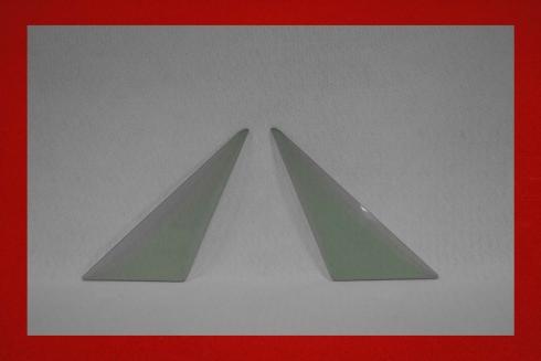 Kunststoff Dreiecksscheiben 914 3 mm in grau getönt