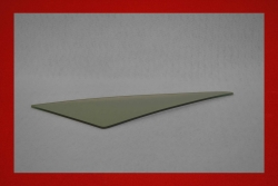 Lightweight triangle window 914 - left 5 mm green tinted