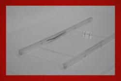 Lightweight door windows with sliders 914 5 mm clear