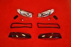 Blinker Komplett Set für Porsche 911 69-73 (Rauch /...