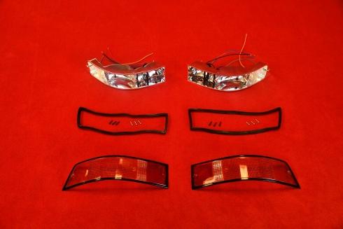 Tail light set 911 69-89 (EU / black) - pair
