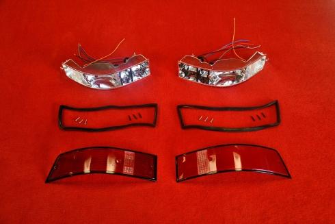 Tail light set 911 69-89 (US / black) - pair