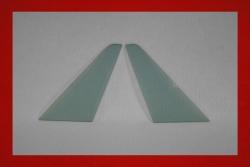 Kunststoff Dreiecksscheiben 911 / 964 / 993 (Targa / Cabrio) 3 mm in klar