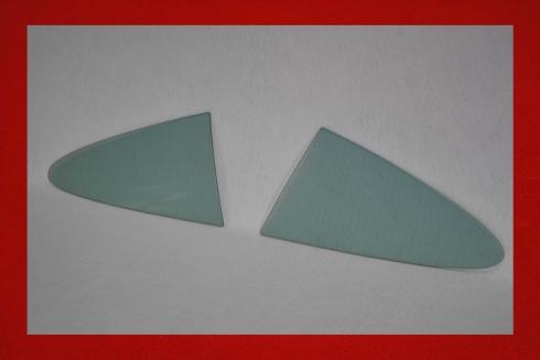 Kunststoff Seitenscheiben hinten 911 / 964 / 993 5 mm in blau getönt