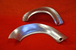 Rear steel fender flares 2,8 RSR