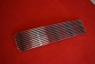 Duck tail engine grille - chrome