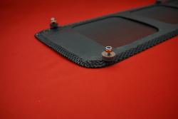 engine grille for duck tail - lightweight black Magnus Walker Style