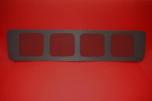 engine grille for engine lid  - lightweight black Magnus Walker Style