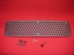 Lufteinlassgitter / Motorgitter für Entenbürzel aus Aluminum - Pik-Muster