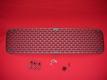 Lufteinlassgitter / Motorgitter für Entenbürzel aus Aluminum - Ovali-Muster
