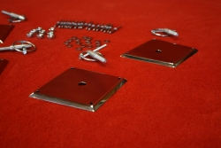 Front hood pin kit 914/6 GT