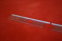 Armaturenbrett Blende (Aluminium) 911 (69-73) - Linkslenker (Radio und Klima)