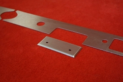 Armaturenbrett Blende (Aluminium) 911 / 912 (1966) - Linkslenker (Radio)
