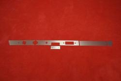 Dash trim kit (aluminium) 911 / 912 (1966) - RHD (without cutouts)