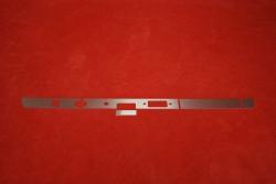 Dash trim kit (aluminium) 911 / 912 (1967) - RHD (radio)
