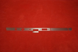 Dash trim kit (aluminium) 911 / 912 (1967) - RHD (radio, lighter, ashtray)