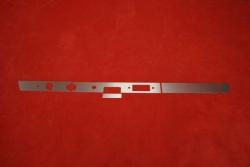 Armaturenbrett Blende (Aluminium) 911 / 912 (1968) - Linkslenker (Radio)