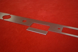 Armaturenbrett Blende (Aluminium) 911 / 912 (1968) - Rechtslenker (Radio)