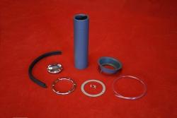Fuel filler kit for 911 ST / RSR with screwable trim - polished