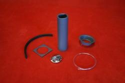 Fuel filler kit for 911 ST / RSR with welding plate - polished