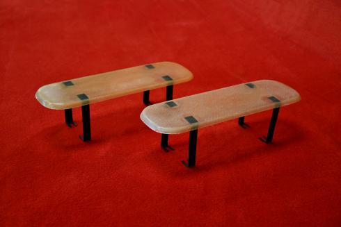 Rain shields for 911 R / ST / 906 / 914-6 GT - flat