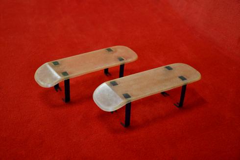 Rain shields for 911 R / ST / 906 / 914-6 GT - bent