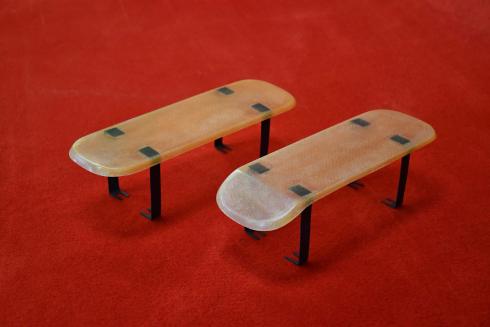 Rain Shields für 911 R / ST / 906 und 914-6 GT - gerade / abgeschrägt