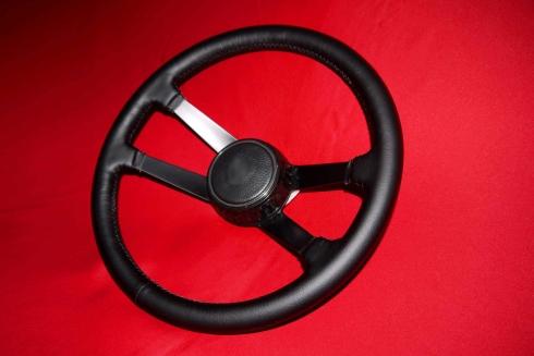 Singer Style Lenkrad für 964 (1989-1993 ohne Airbag) Ø380 mm R / RSR / ST / GT - Nabe FP lang [102 mm]