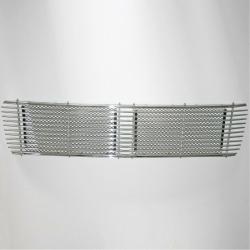 engine grille for swb engine lid  - chrome