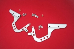 Hinges rear engine lid 964 / 993 / 965 Singer Style - adjustable