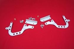 Hinges for rear engine lid 964 / 965 / 993 Singer Style - adjustable for 964 / 965 / 993 series engine lid
